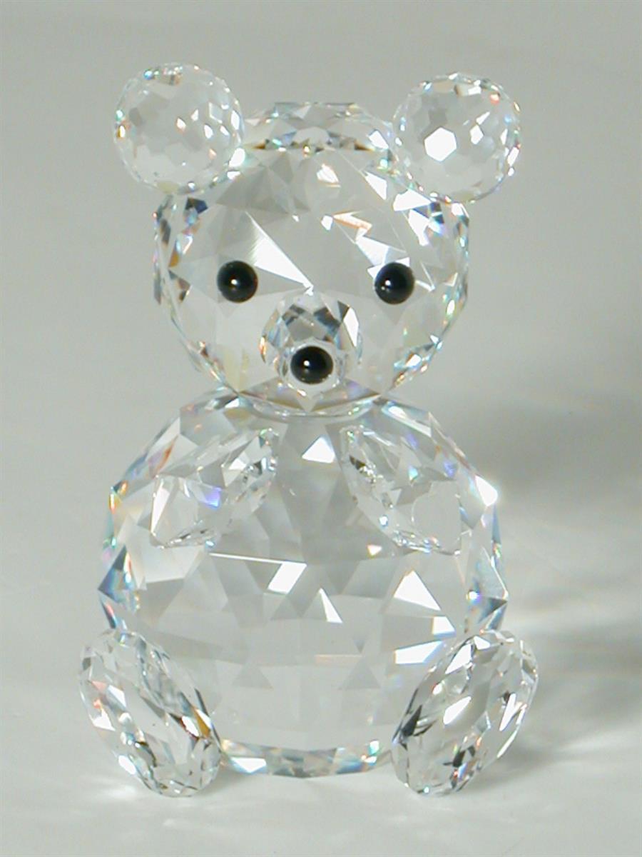 Figuras de cristal figura swarovski 010009 oso grande - Figuras de cristal swarovski ...