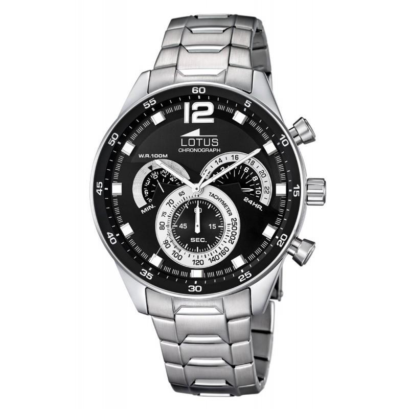 Relojes acero reloj lotus crono hombre lotus gonzalez joyería jpg 800x800  Bronce relojes hombre lotus 027c316392e3
