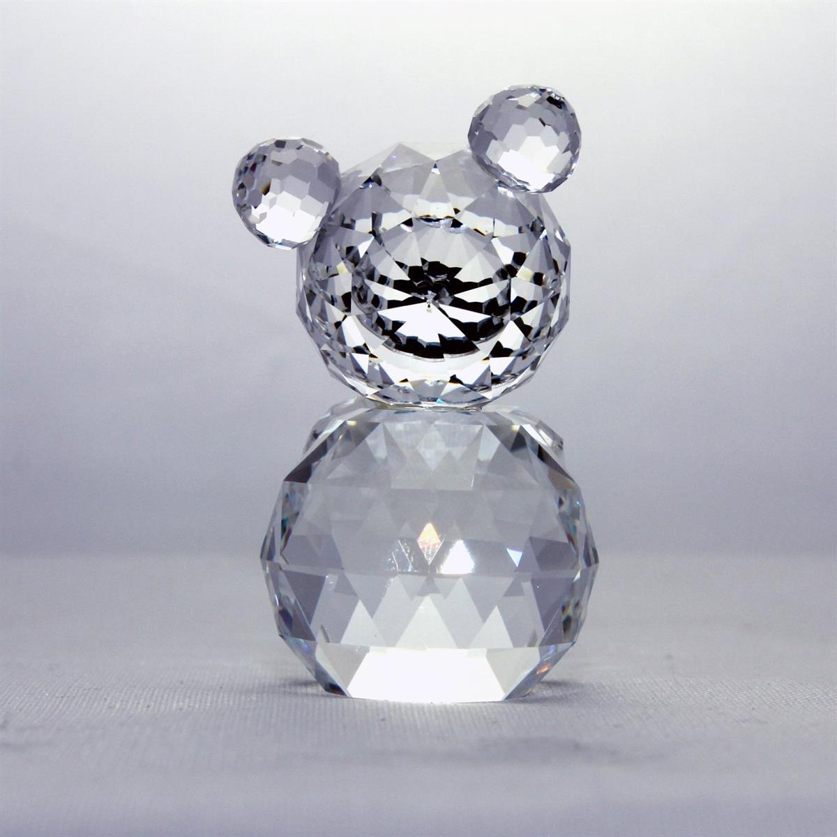 Figuras de cristal figura swarovski 012262 oso mini - Figuras de cristal swarovski ...