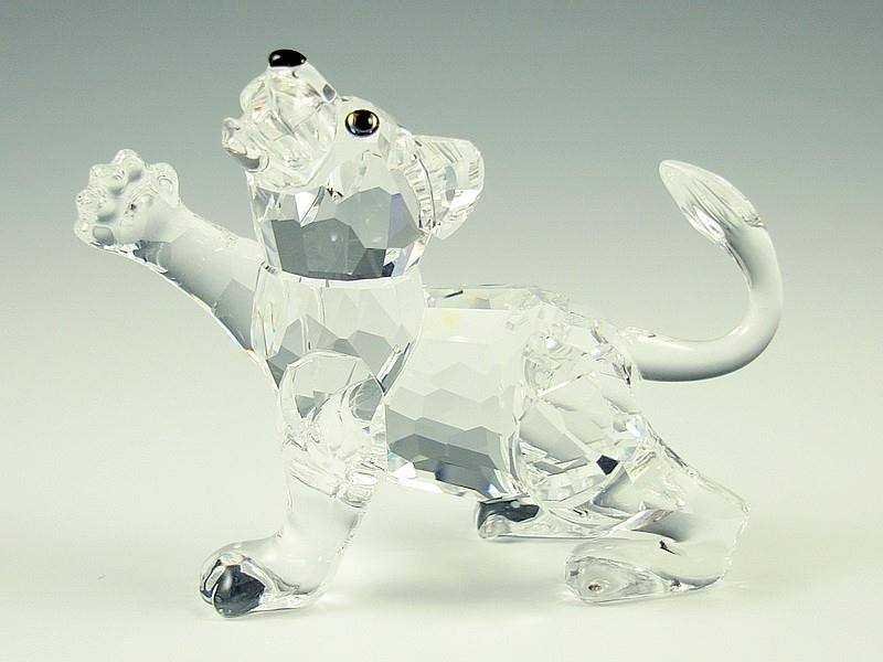Figuras de cristal figura swarovski 210460 baby leon - Figuras de cristal swarovski ...