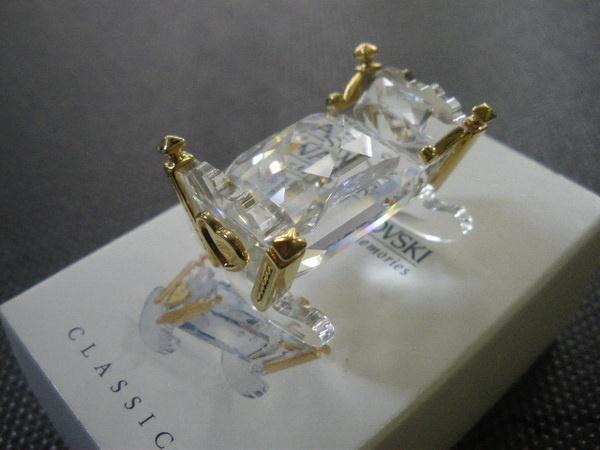 Figuras de cristal figura swarovski 243451 cuna crystal - Figuras de cristal swarovski ...