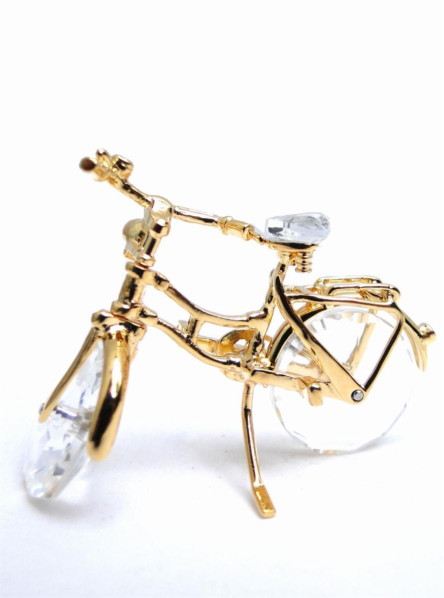 Figuras de cristal figura swarovski 265 818 bicicleta - Figuras de cristal swarovski ...