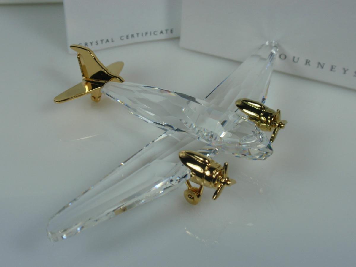 Figuras de cristal figura swarovski 220 506 avion - Figuras de cristal swarovski ...