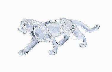 Figuras de cristal figura swarovski 217093 leopardo - Figuras de cristal swarovski ...