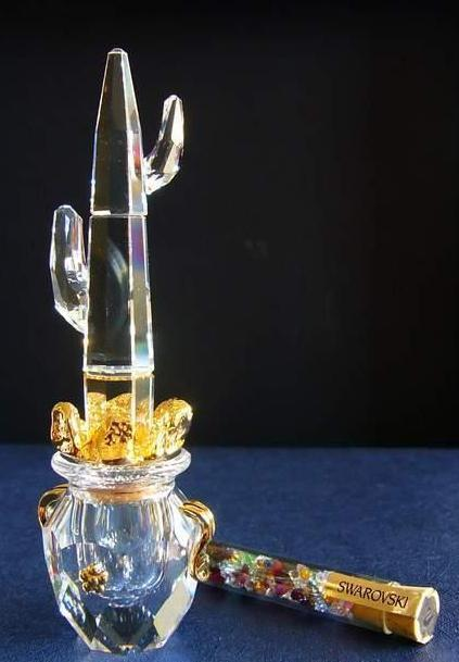 Figuras de cristal figura swarovski 235911 cactus 7 - Figuras de cristal swarovski ...