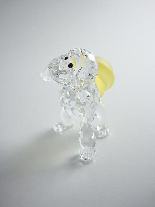 Figuras de cristal figura swaroski 273394 gorila joven - Figuras de cristal swarovski ...