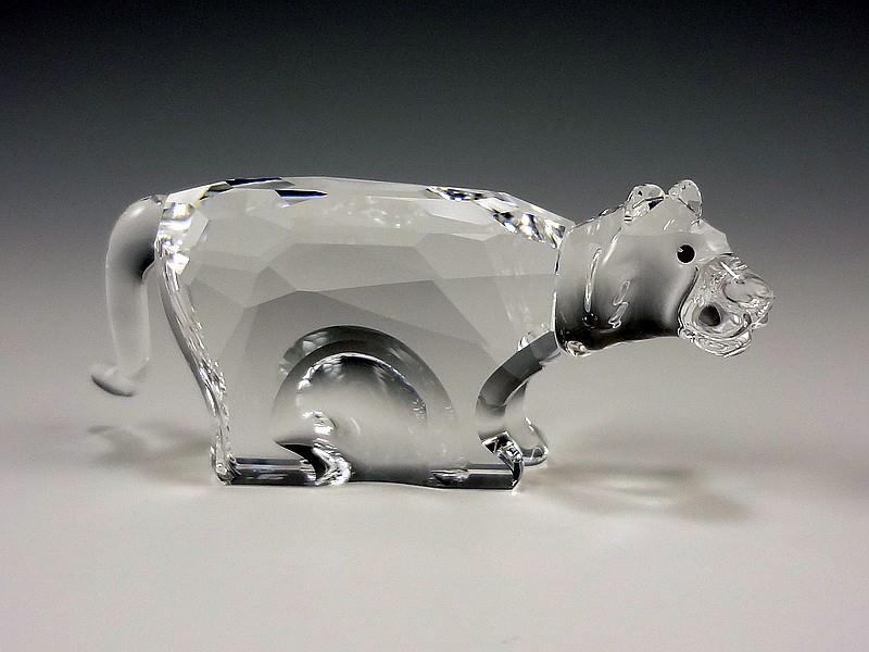 Figuras de cristal figura swarovski 622844 tigre - Figuras de cristal swarovski ...
