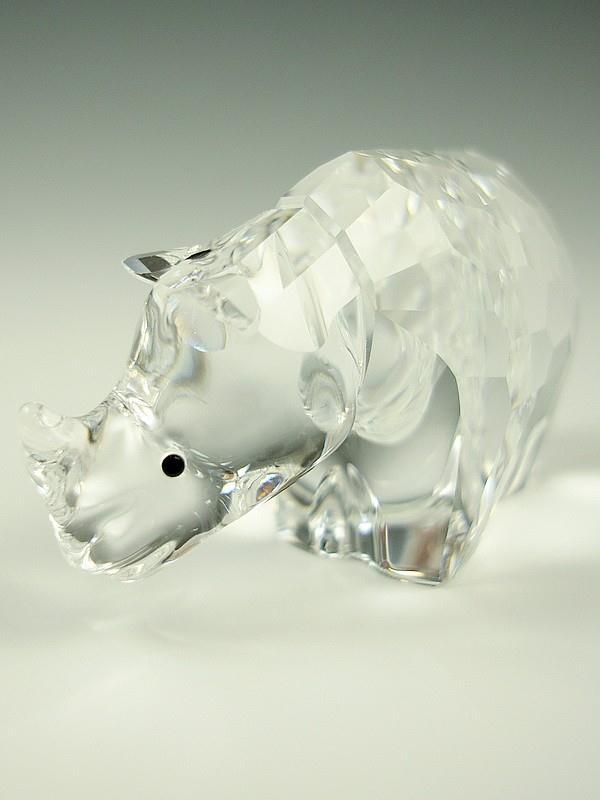 Figuras de cristal figura swarovski 622941 rinoceronte - Figuras de cristal swarovski ...