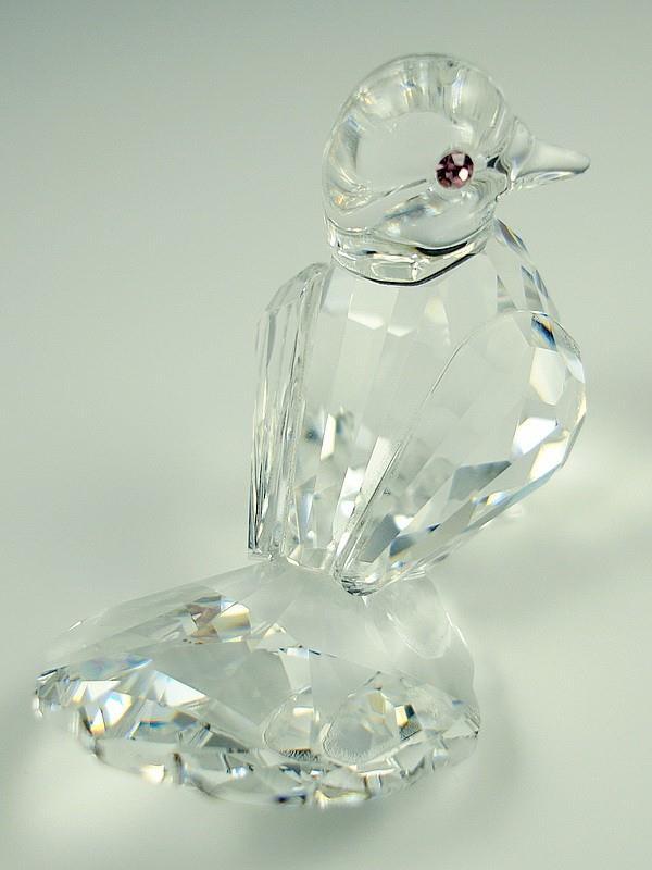 Figuras de cristal figura swarovski 191696 paloma silver - Figuras de cristal swarovski ...