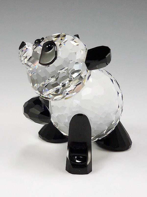 Figuras de cristal figura swarovski 181080 mama panda - Figuras de cristal swarovski ...