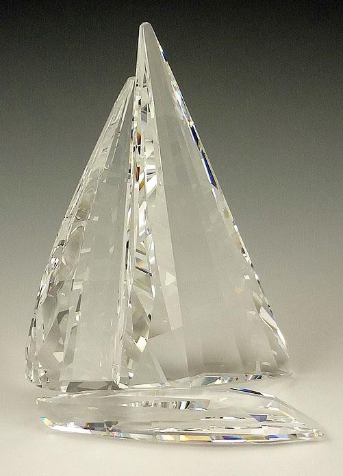 Figuras de cristal swarovski 619436 velero legendario - Figuras de cristal swarovski ...