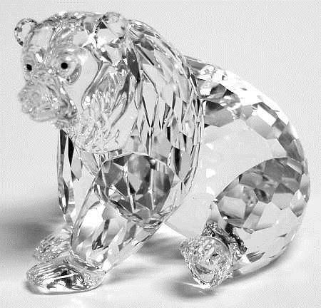Figuras de cristal figura swarovski 243880 oso pardo - Figuras de cristal swarovski ...