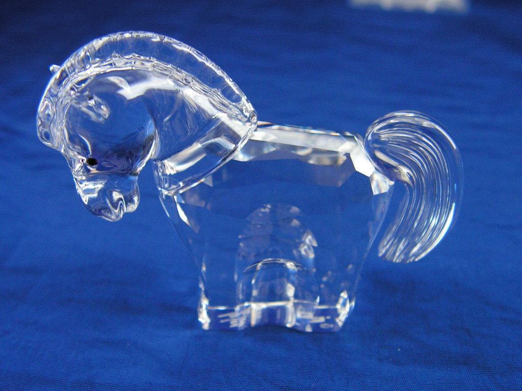 Figuras de cristal figura swarovski 289 908 caballo - Figuras de cristal swarovski ...
